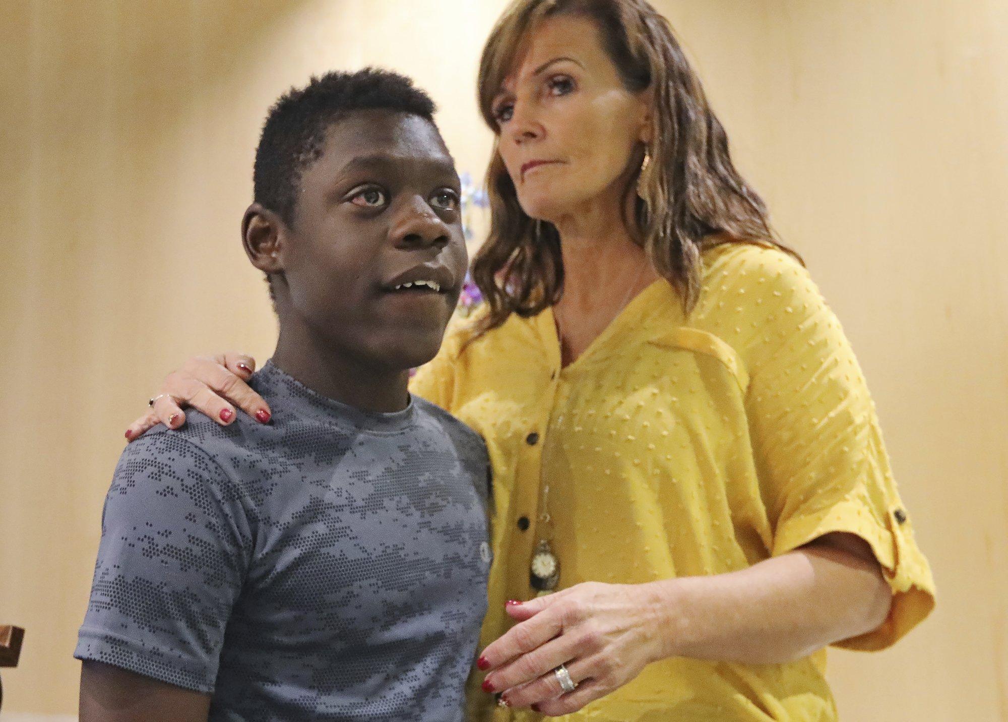 Mother says Utah officer pulled gun on her black son