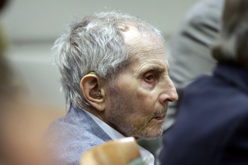 Superior Court Judge Mark E. Windham announced that the murder trial for Robert Durst will stand adjourned until April 6 over fears of the transmission of the new coronavirus