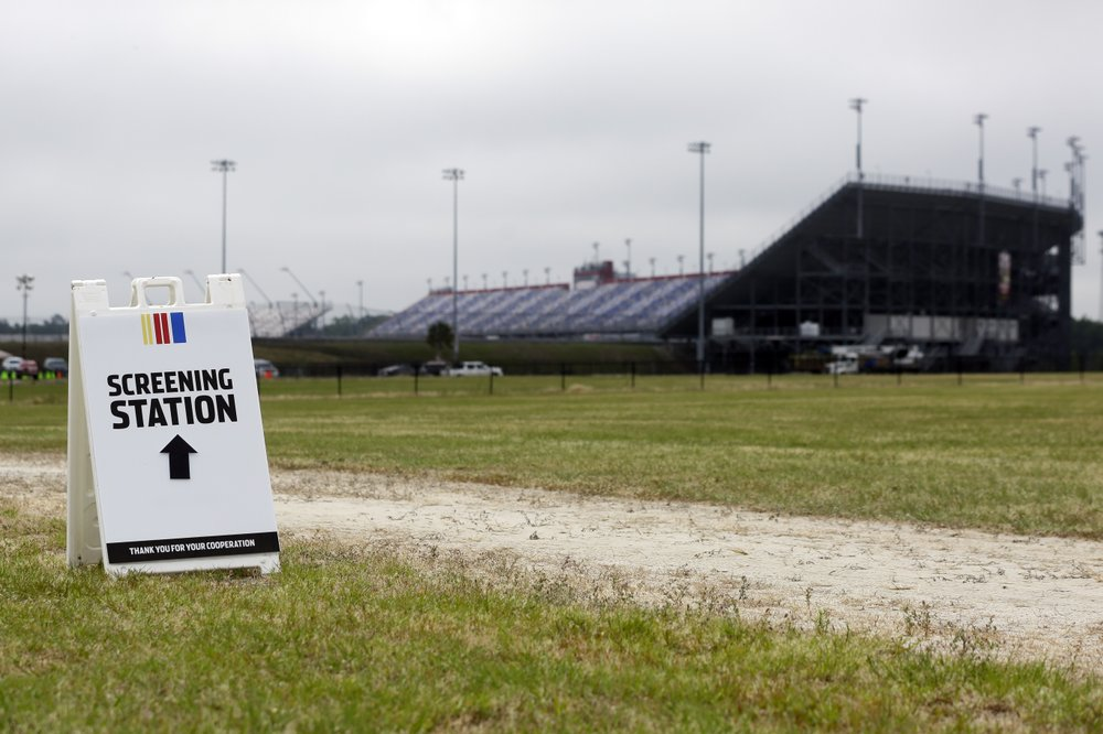 The coronavirus is still here, but so is NASCAR