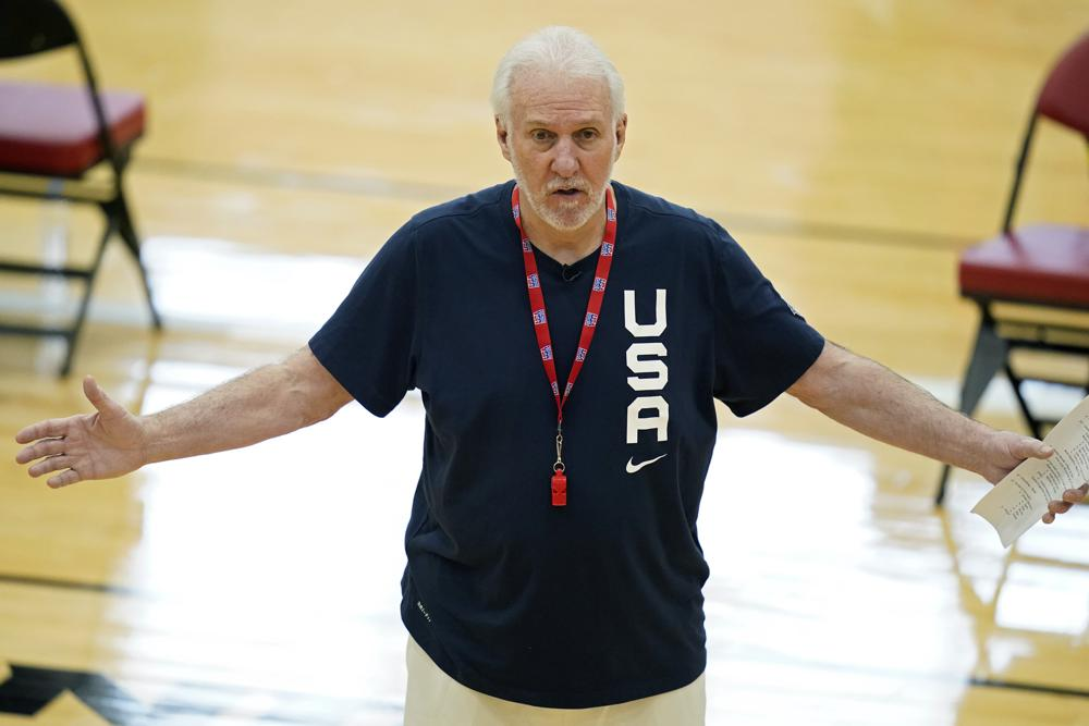 Team USA Men's Basketball Players Blaming Head Coach Gregg Popovich for Olympic Loss