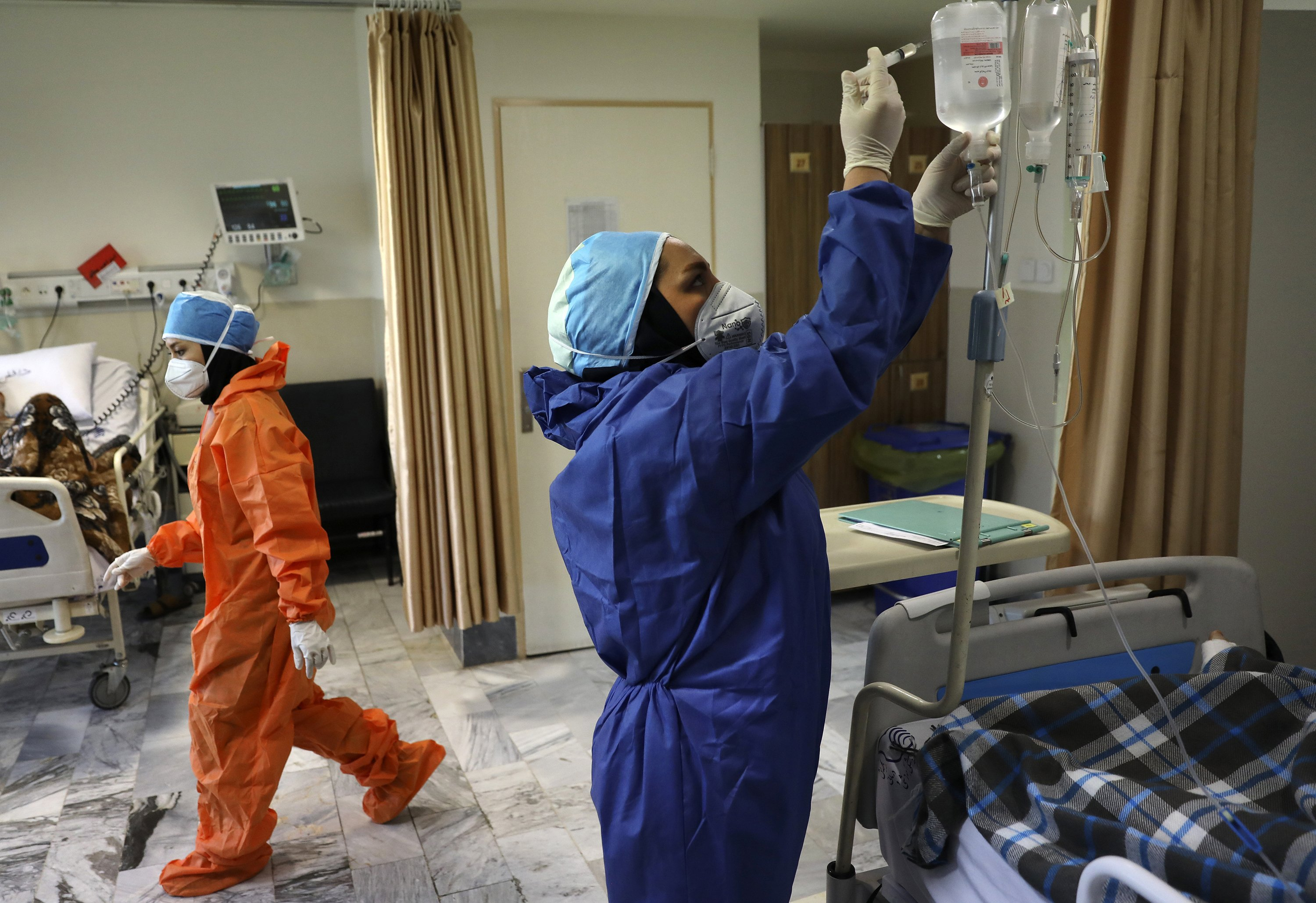 Iran surpasses 20,000 confirmed deaths from the coronavirus - The Associated Press