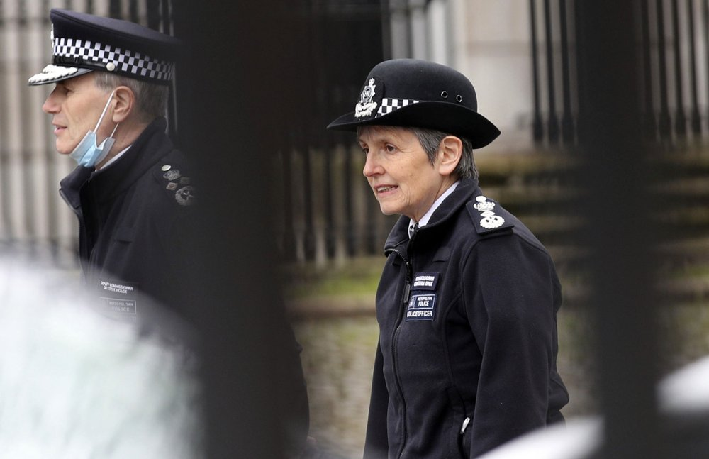 London police commissioner Cressida Dick says she won't resign after heavy criticism for the way police handled protesters