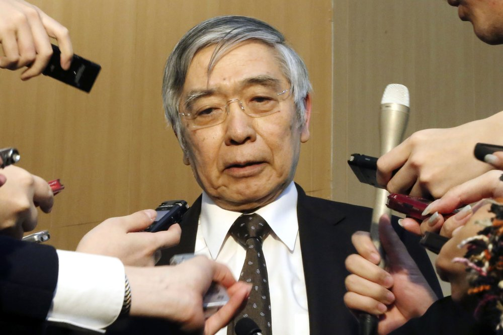 The Bank of Japan Gov, Haruhiko Kuroda announced after an emergency policy meeting that it will expand its purchases of stocks, bonds and other assets among other things to help the economy weather the impact of the virus outbreak