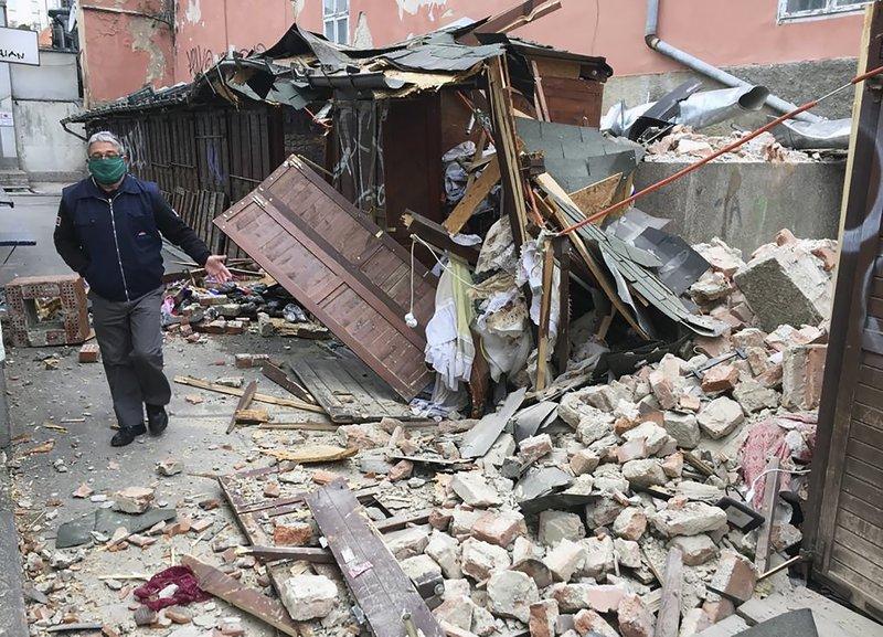 Un fuerte terremoto remece Croacia y causa daños en Zagreb