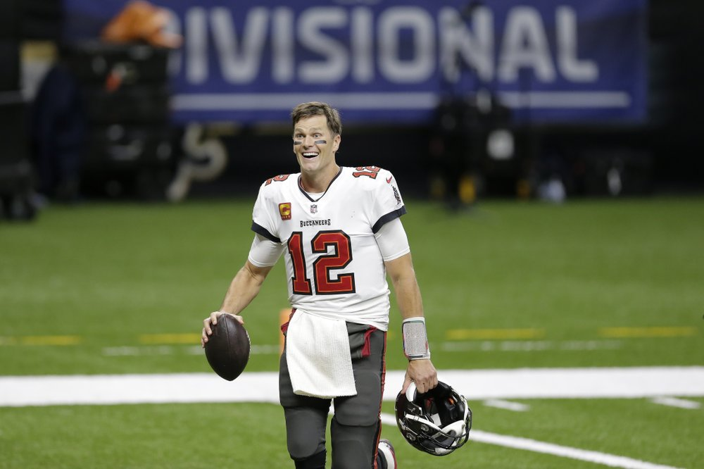 Tampa Bay Buccaneers Beat New Orleans Saints 30-20 for Brady's First Conference Championship in First Season in NFC