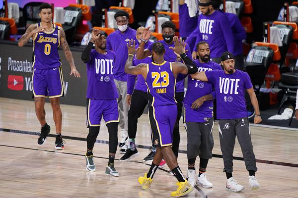 After a year of drama, the Lakers reach NBA Finals anyway