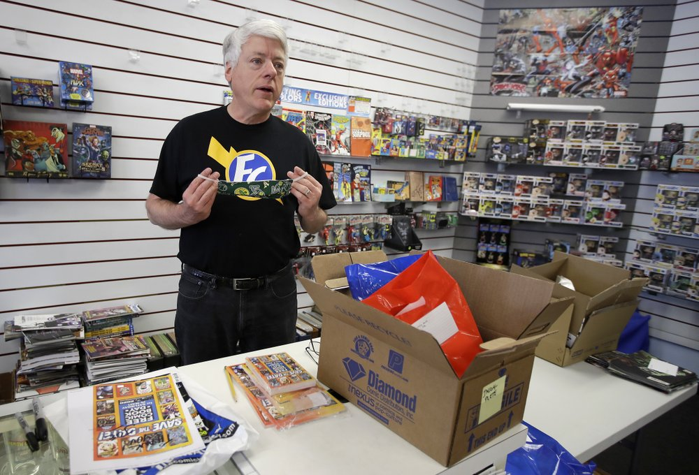 Comic book industry tries to move on inspite of being hit by the coronavirus plague