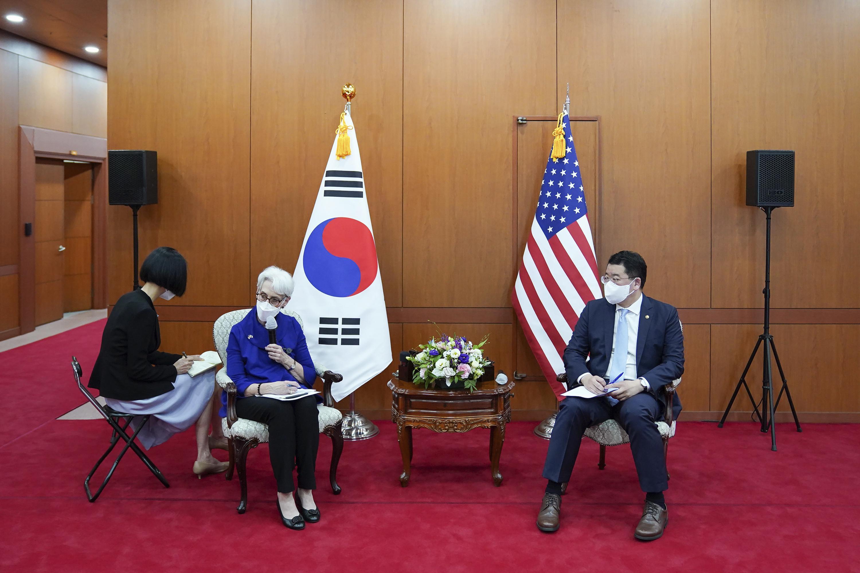 Image US diplomat worried about pandemic, food supply in N Korea