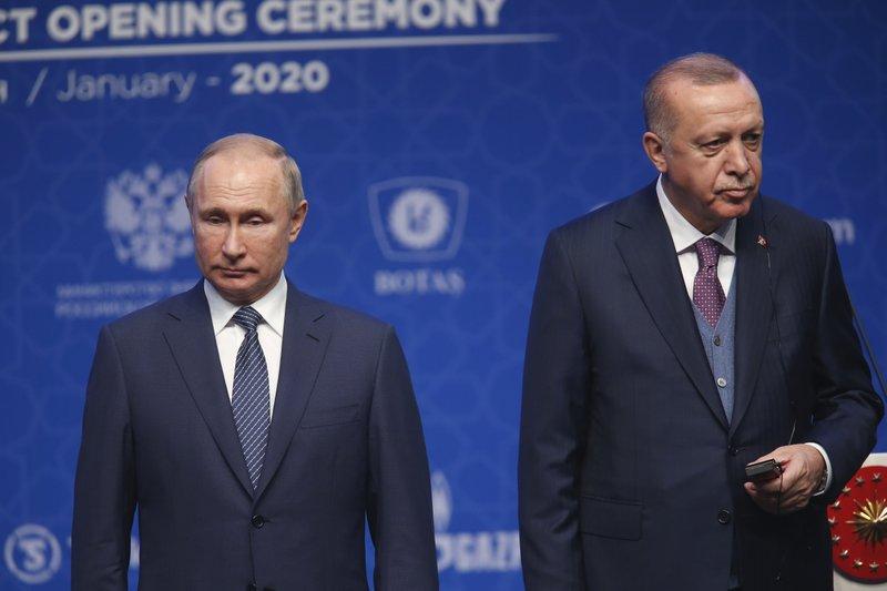 """ERDOGAN OTKRIO KOGA SMATRA ODGOVORNIM ZA ESKALACIJU RATA: """"Rusija trenutno rukovodi ratom u Libiji na najvišem nivou"""""""