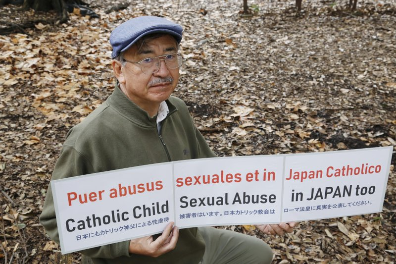 Cries of abuse in Catholic Church start to be heard in Japan 800