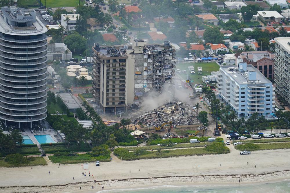 Four Dead, 159 People Missing After Miami-Area Condo Collapse