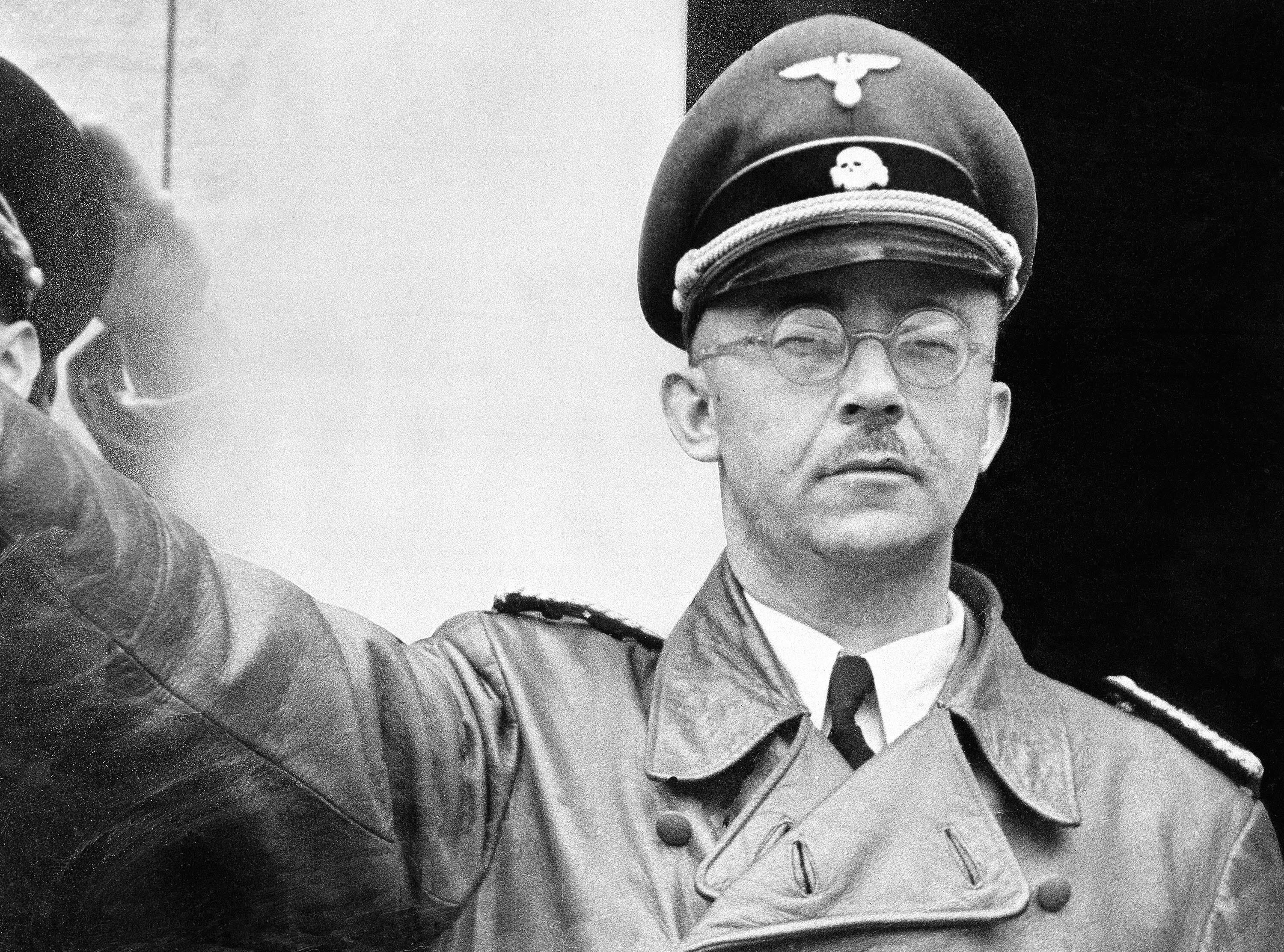 Heinrich Himmler, a leading member of Germany's Nazi party
