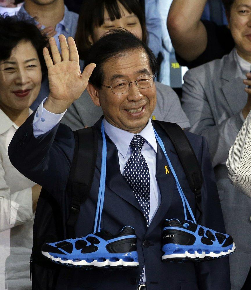 Park Won-soon, the three-term mayor of South Korea's capital found dead