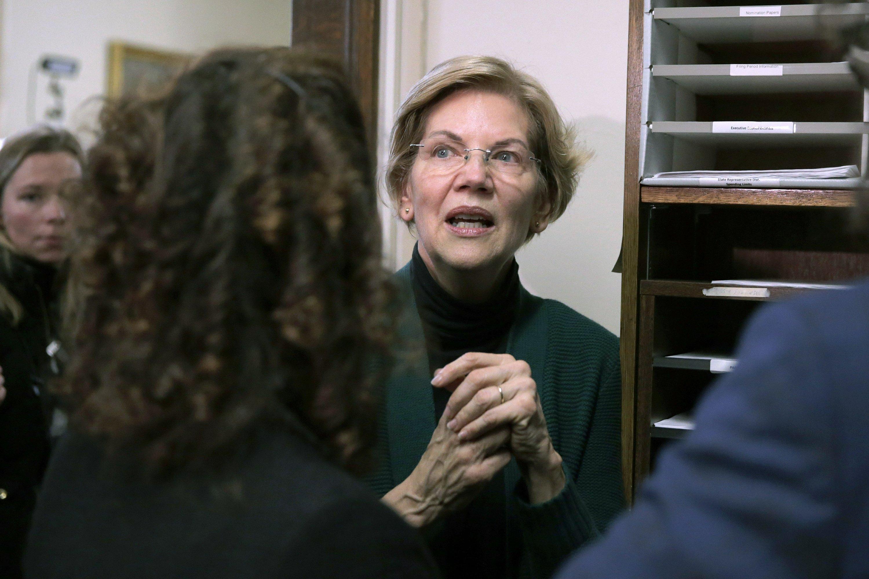 Warren says she won't immediately push for Medicare for All