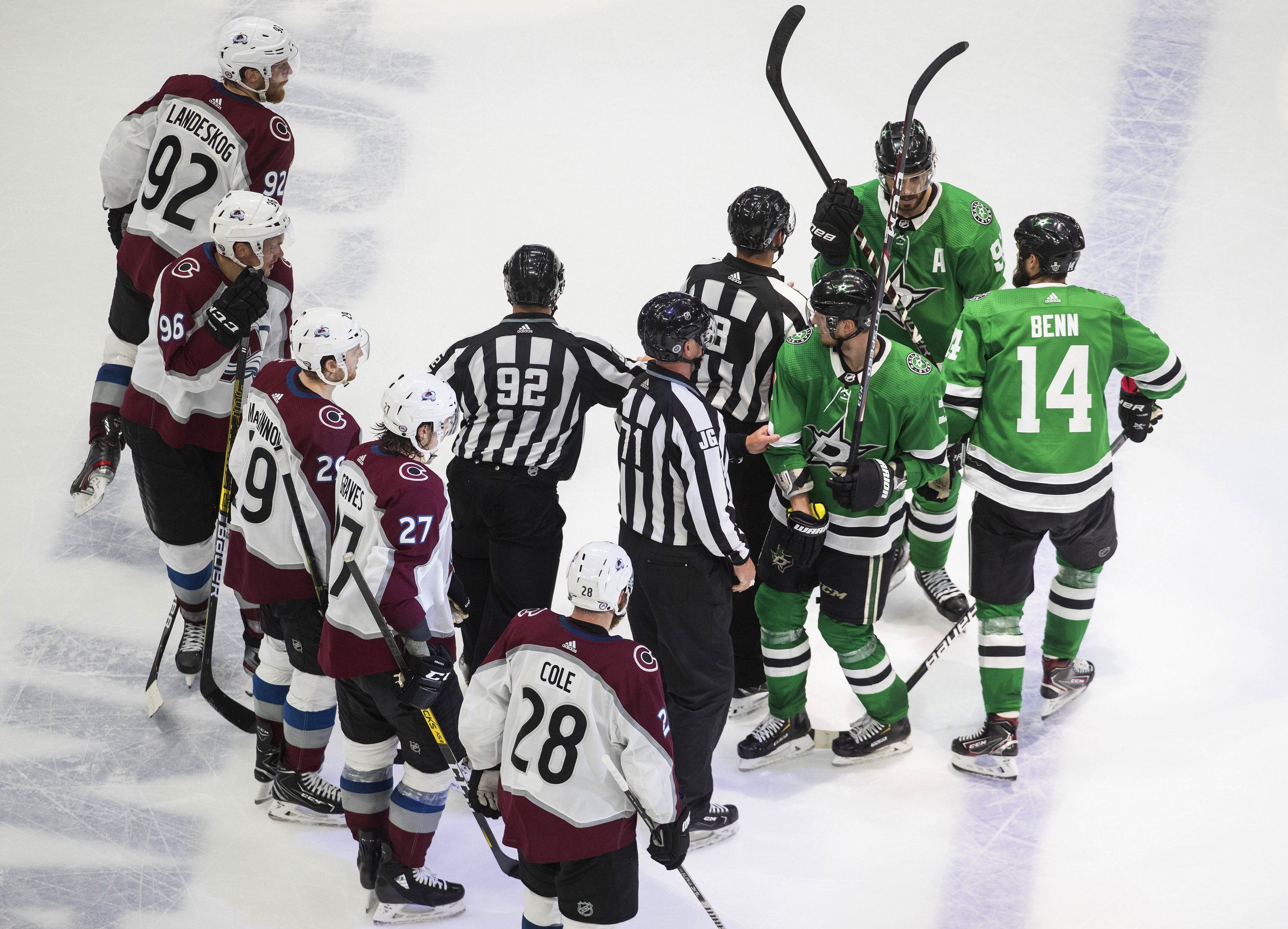 Avalanche, Stars reflect on regret, ready to resume series