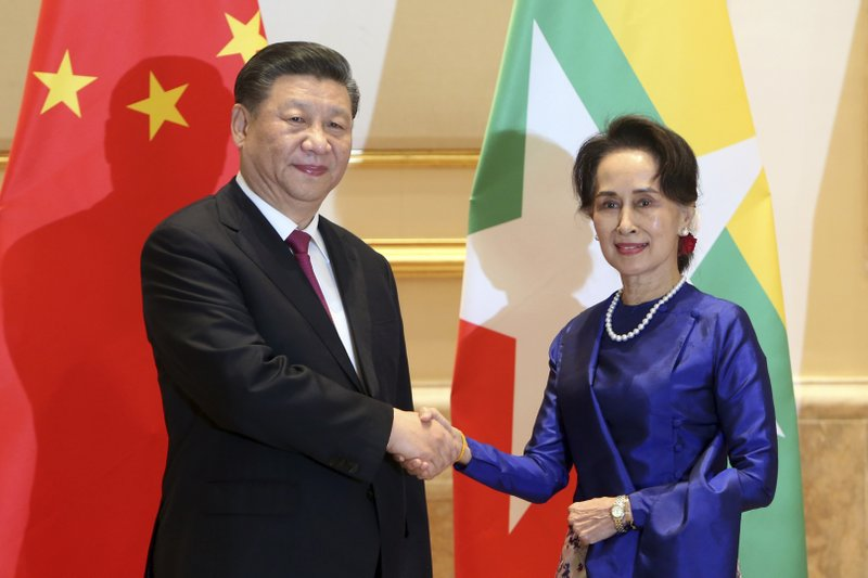 Chinese president heads to Myanmar for crucial state visit