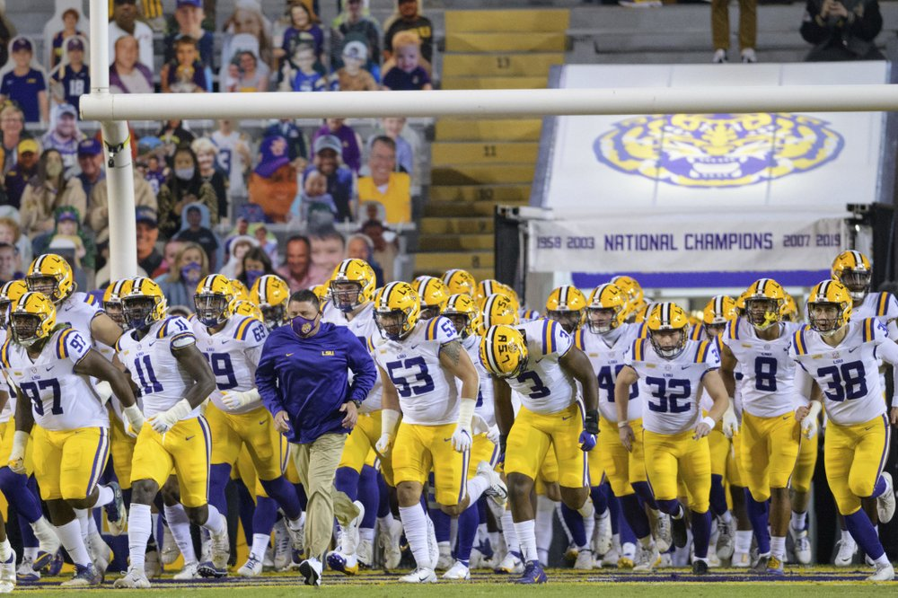 LSU places itself in a one year bowl ban for current season amid NCAA probe