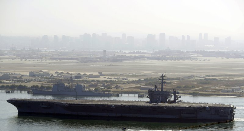 3 sailors have tested positive for COVID-19 on USS Theodore Roosevelt