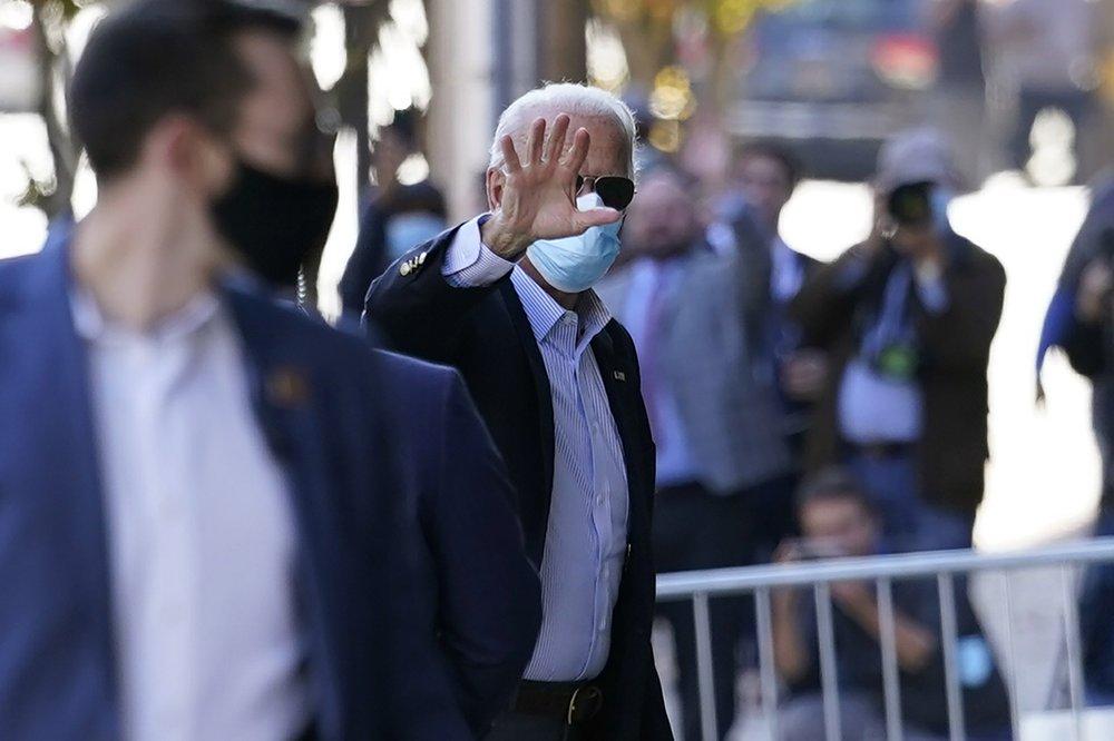 Joe Biden getting virtual briefing on coronavirus from panels of experts