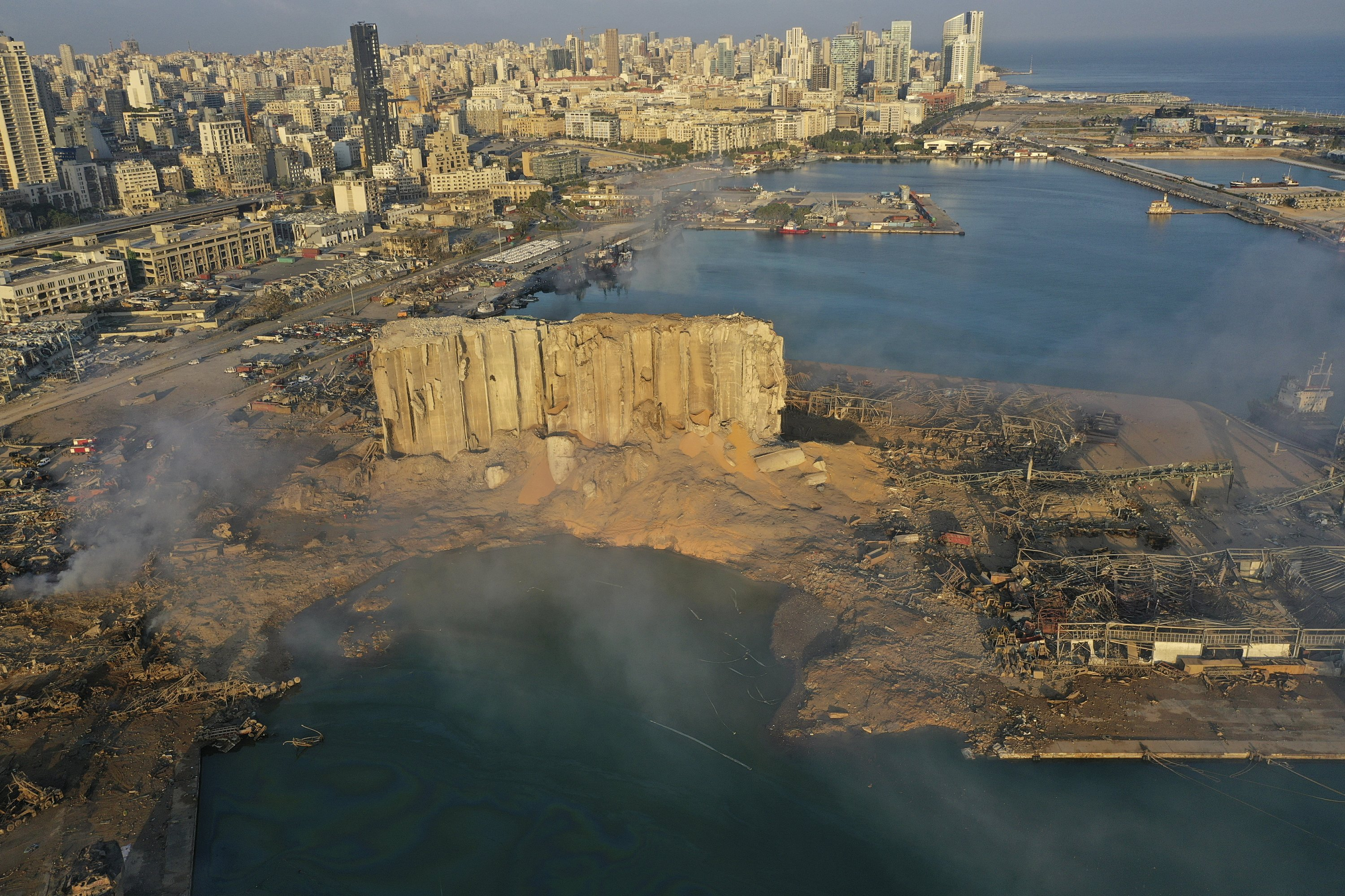 'End of the world': Countdown to Beirut's devastating blast