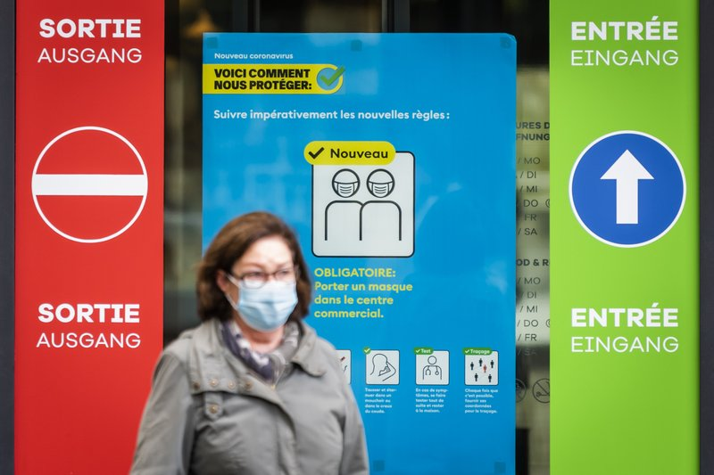 Rise in coronavirus cases overburdening hospitals causes new fear in Switzerland