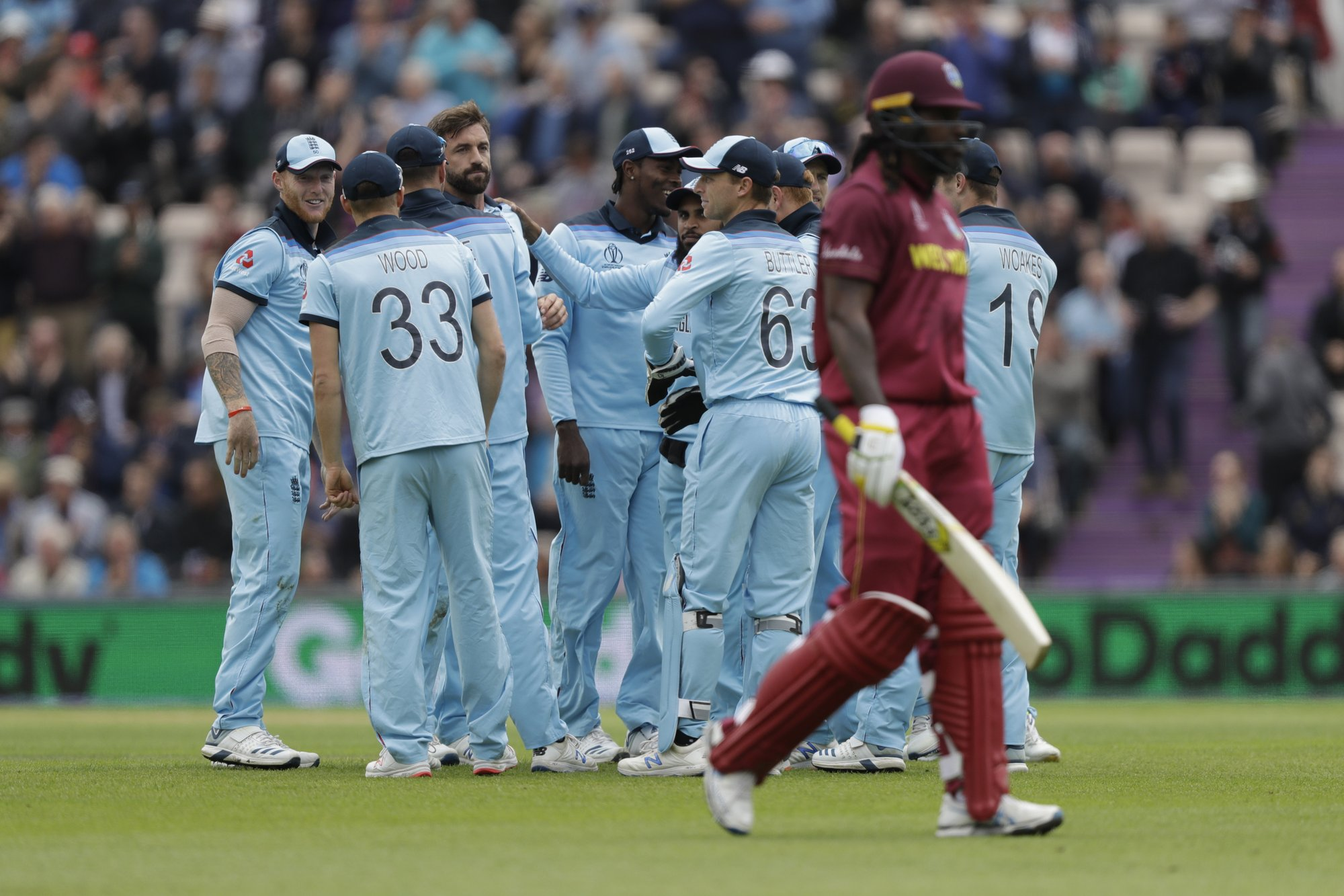 Gayle sets batting mark against England at Cricket World Cup