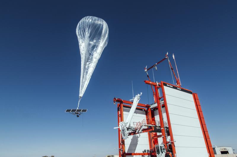 Stratosphärenballons von Loon in Puerto Rico | Bildquelle: https://t1p.de/v58c © AP | Bilder sind in der Regel urheberrechtlich geschützt