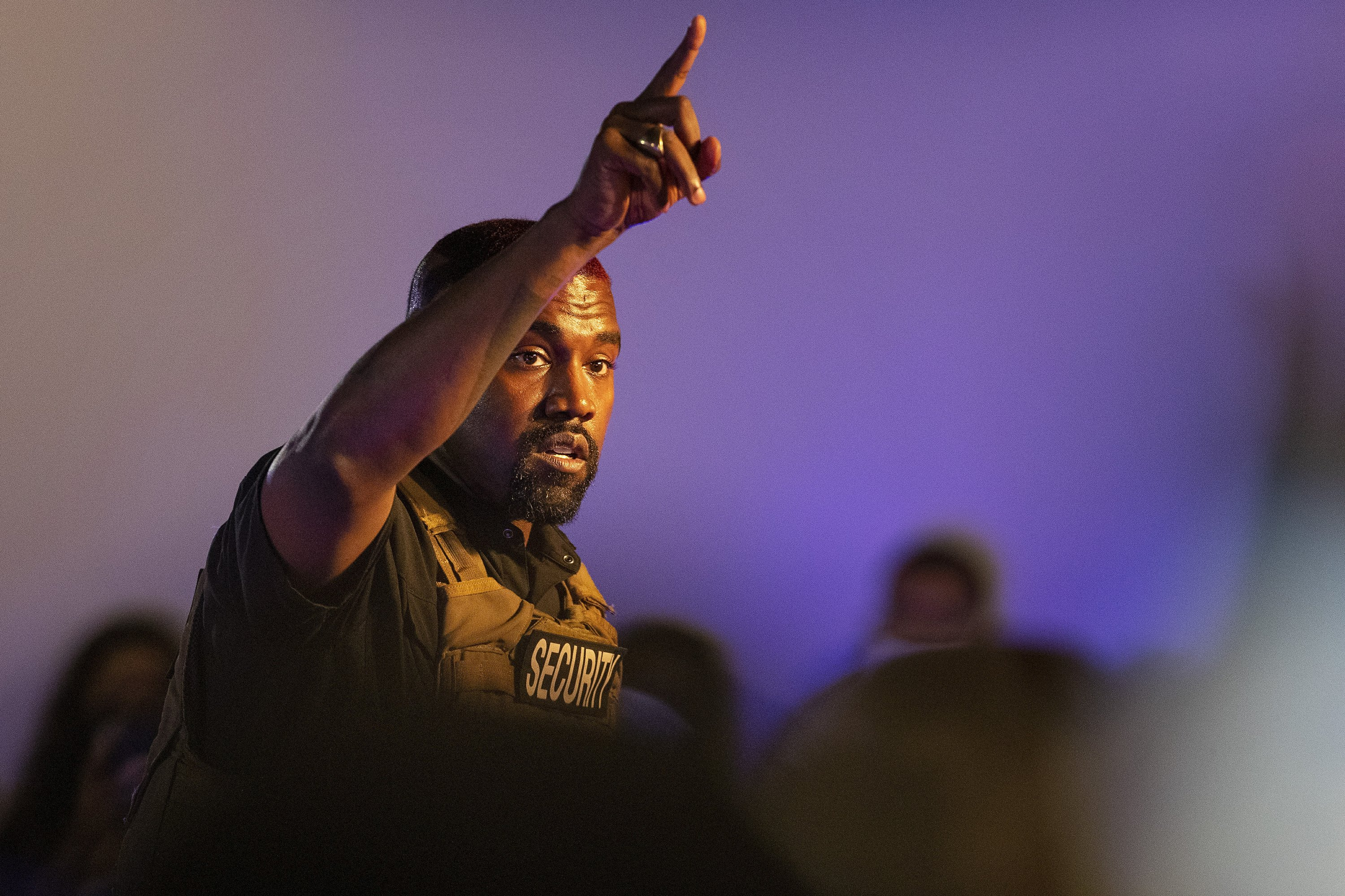 Rapper Kanye West files in Wisconsin to run for president
