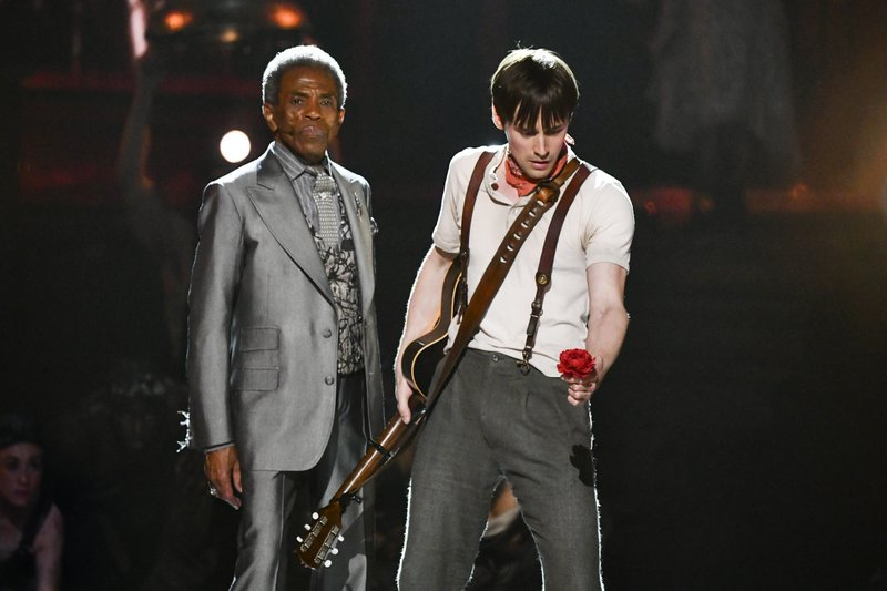The Latest: 'Hadestown' wins Tony Award for best new musical