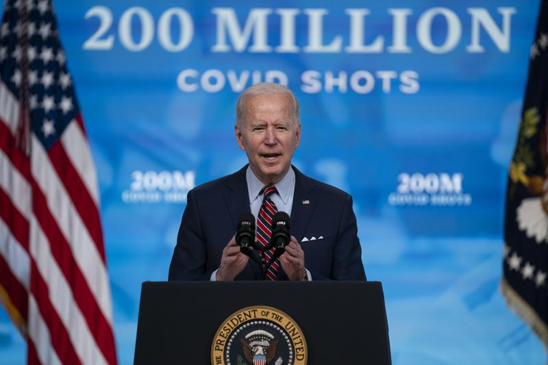 President Biden looks for path to bring America back to normal