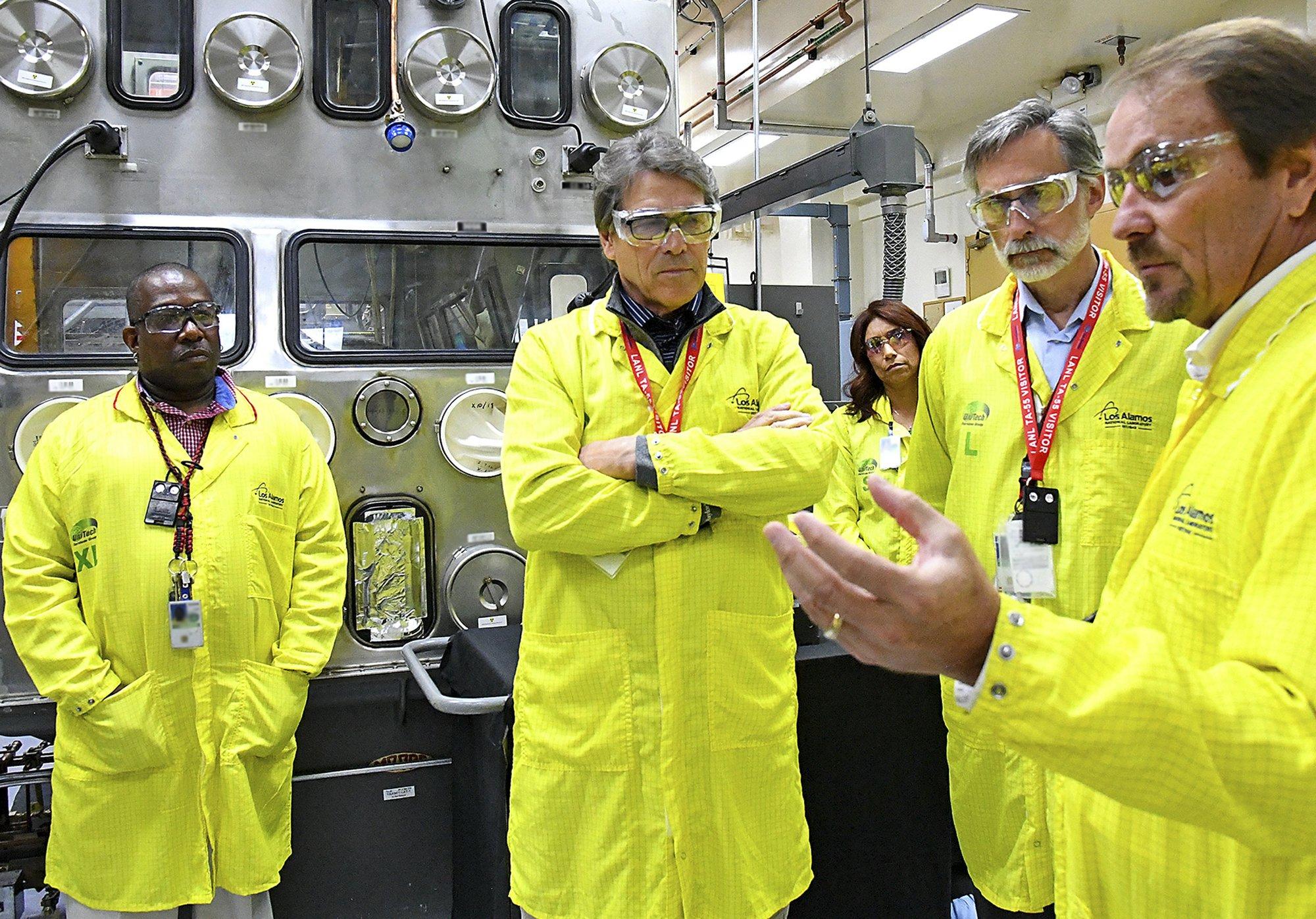 Energy secretary returns to Nevada nuke site in legal fight