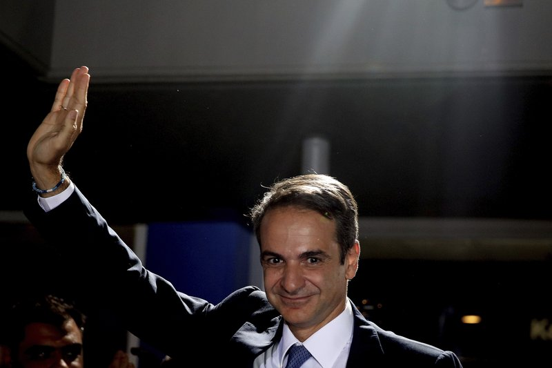 Conservative party wins Greek election, ousts left-wing PM