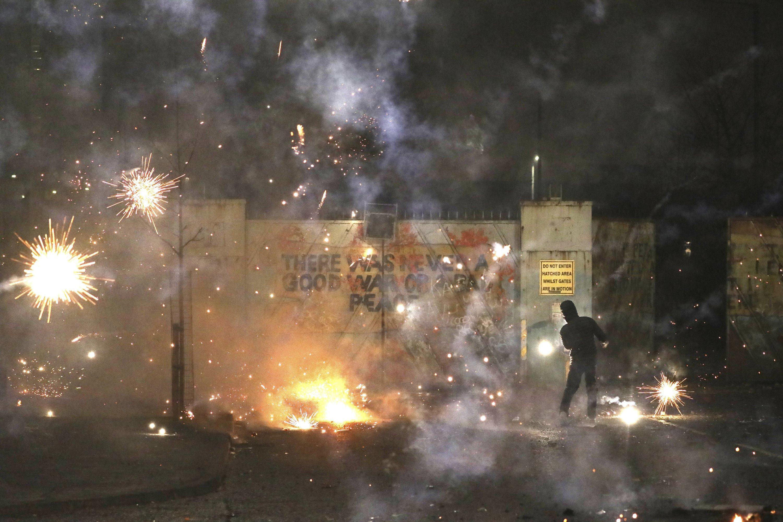 What is behind the latest disturbances in Northern Ireland?