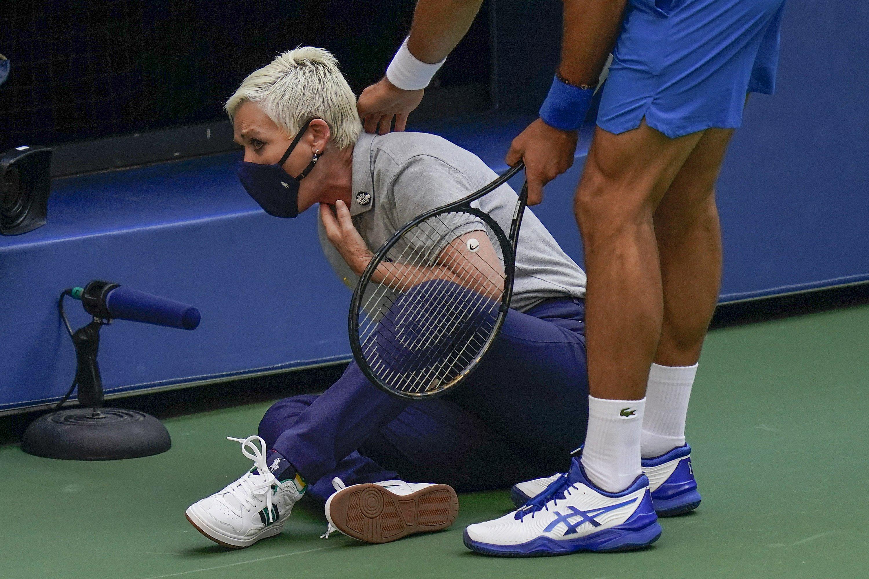 Us Open Glance Men S Bracket Moves On From Djokovic Default