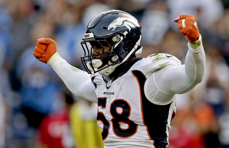 """Got my results back. I'm 'negative' for Covid-19,"" Denver Broncos star linebacker Von Miller tweets"