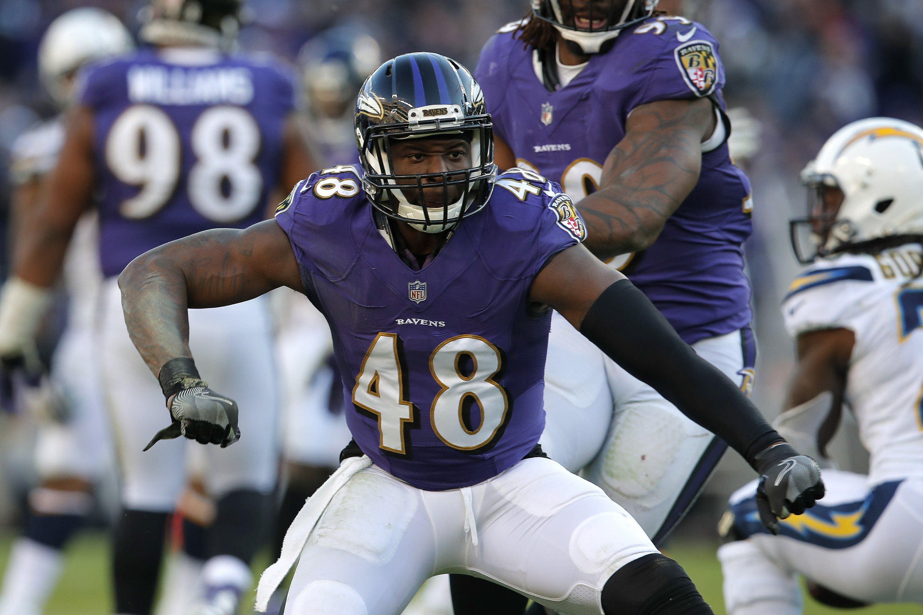 AP source: Jets, LB Patrick Onwuasor agree on 1-year deal