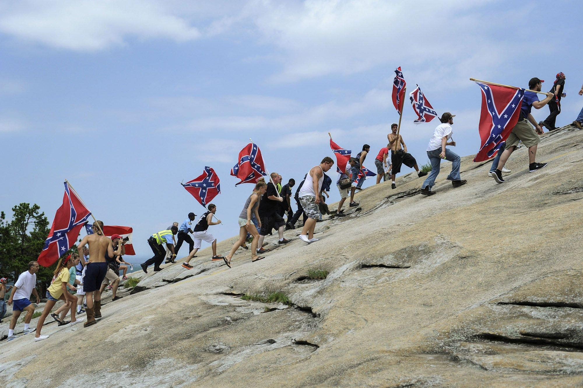 La Vigencia De Las Banderas Confederadas En El Sur De Eeuu