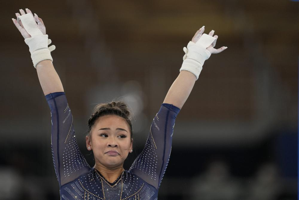 Sunisa Lee Takes Bronze in Uneven Bars Final at Tokyo Olympics