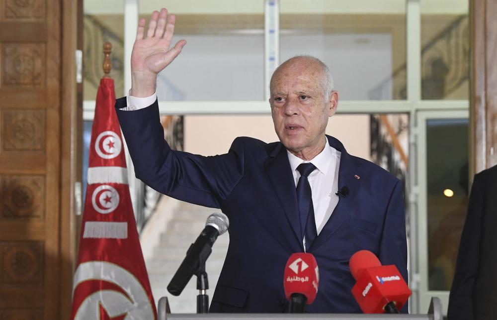 tunisia,tunis,Tunisian President Kaïs Saied,harbouchanews