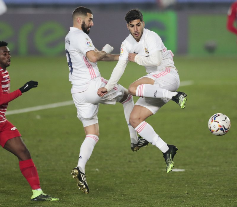 Asensio Spurs Real Madrid To 2 0 Win Over Granada