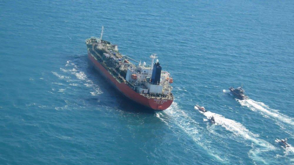 Iran began enriching uranium, seizes South Korean ship
