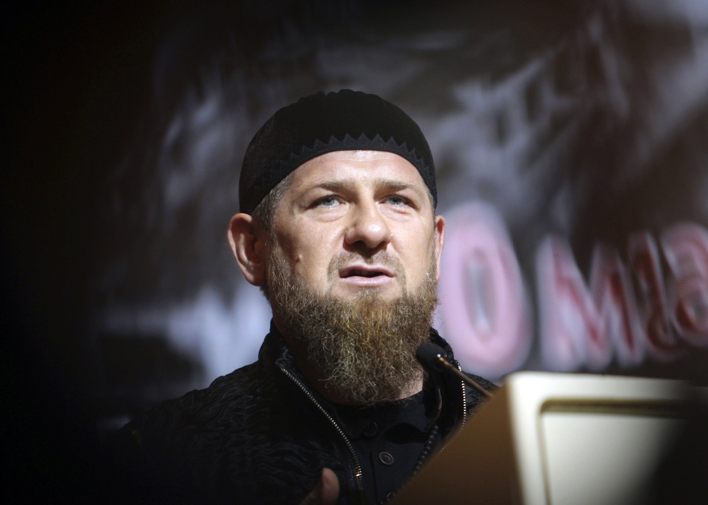 Chechen leader blames foreign spies for slaying his...