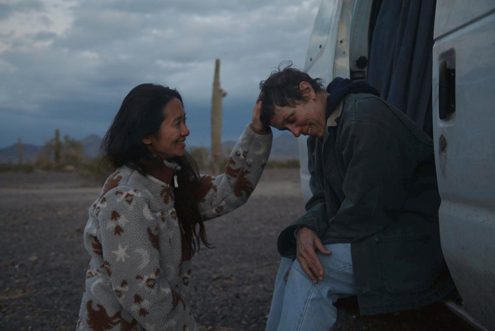 """Nomadland"" wins 4 BAFTAs including best picture, director Chloe Zhao first woman of color  wins the BAFTA for best director"
