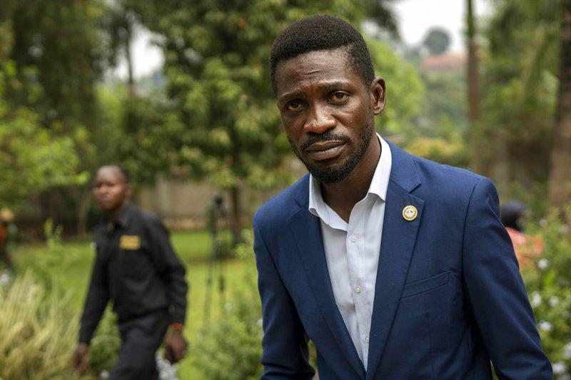 Uganda's Bobi Wine accuses president of staging vote 'coup'