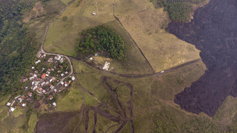 Lava from Guatemala's Pacaya volcano threatens cities