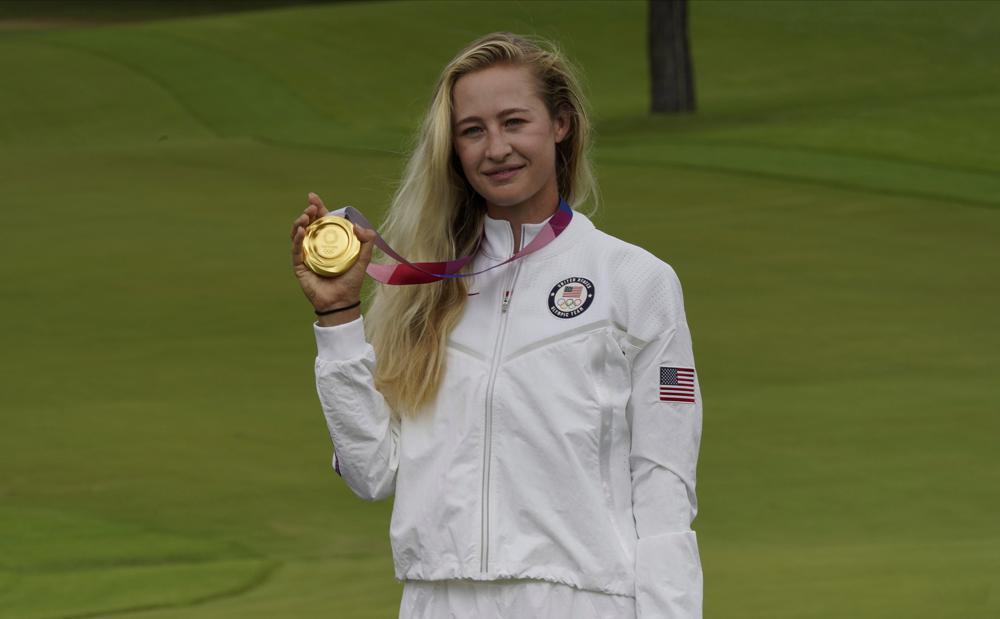 U.S. Golfer Nelly Korda Wins Olympic Gold Medal