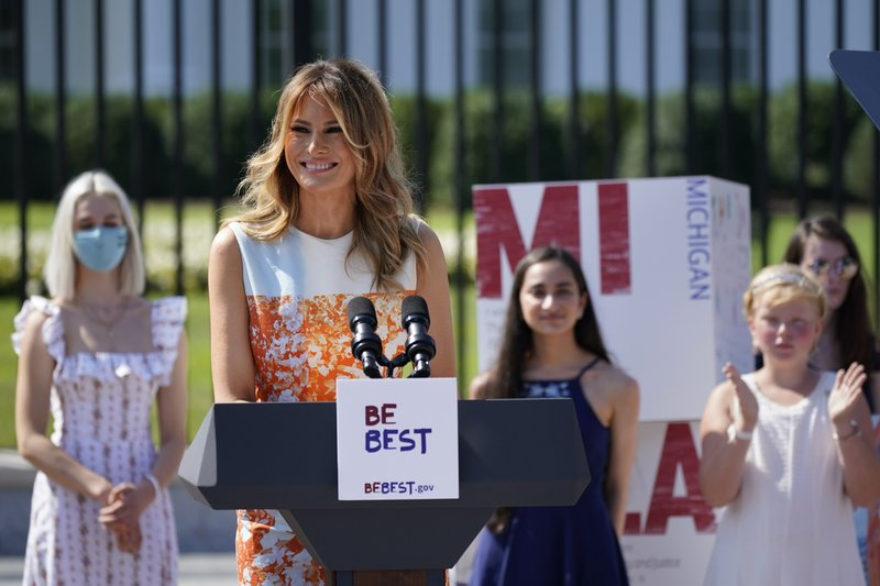 Melania Trump's night: GOP convention stars first lady