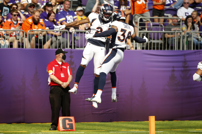 Lock, Bridgewater sharp for Broncos in 33-6 win vs. Vikings