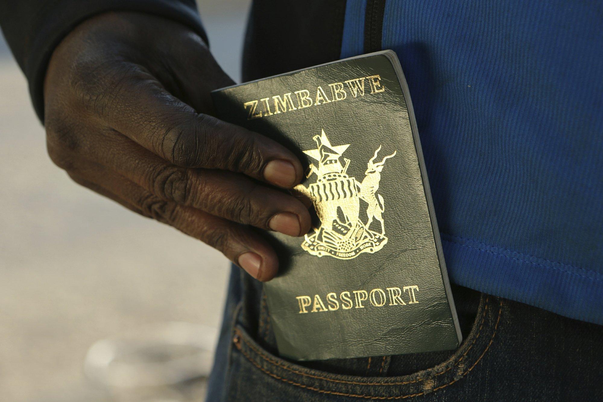'We are trapped': Zimbabwe's economic crunch hits passports