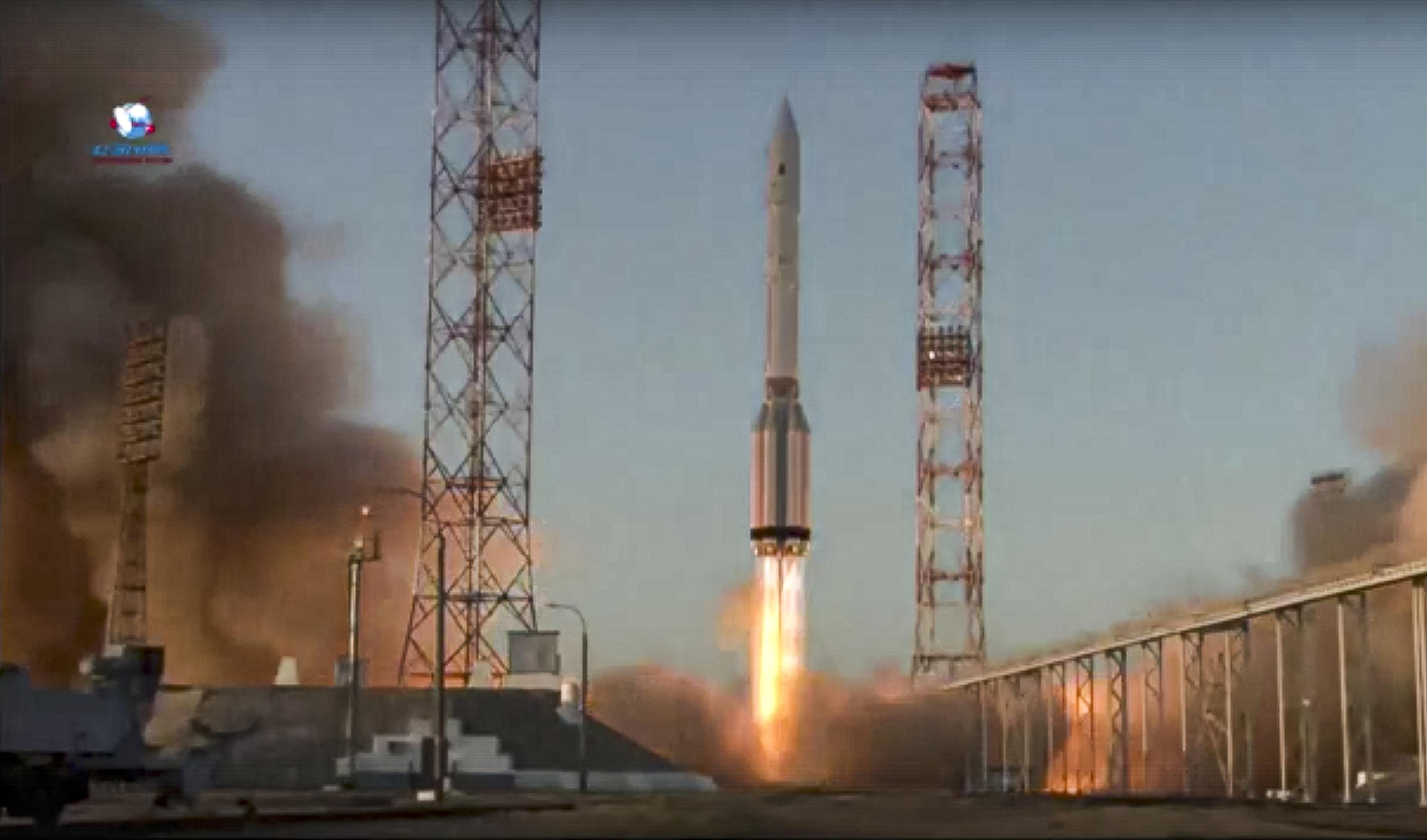 Russia successfully launches Nauka lab module to International Space Station